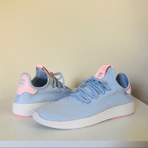 wiele kolorów zniżki z fabryki pierwsza stawka Pharrell Williams Tennis Hu Aero Blue 8.5 Adidas NWT